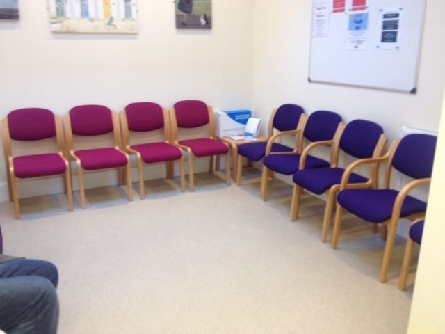 Doctors waiting room furniture
